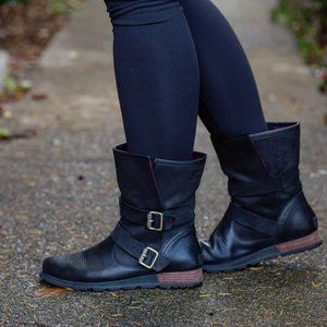 ⬇️ Sorel Major Moto Boots Buffalo Plaid